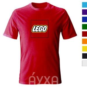 Цветная футболка с моим рисунком/нанесением/печатью/картинкой/изображением. Печать фото/имени/фамилии на одежде