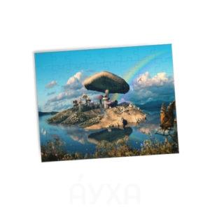 Мозаика с моим изображением. Печать фотографии/фамилии/картинки на пазлах. Выбрать свое изображение для пазла.