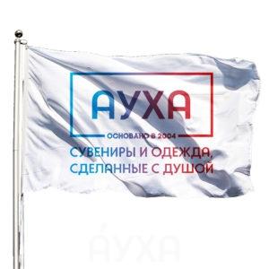 Флаг по моему размеру/по размеру тканевый с моим изображением/нанесением/рисунком/именем, с креплением/ушком под древко