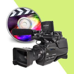 Оцифровка видеокассет и тиражирование дисков
