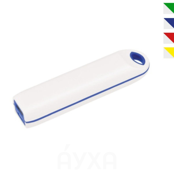 Разноцветный пластиковый повербанк, на котором можно напечатать свои надписи/слова/логотип/изображение. Универсальное зарядное устройство с моим нанесением