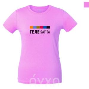 Женская футболка с моим рисунком/нанесением/печатью/картинкой/изображением. Печать фото/имени/фамилии на одежде
