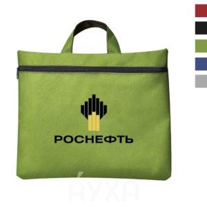 Напечатать/нанести/на сумку для документов свое изображение/рисунк/логотип компании. Заказать сумки с собственным эскизом большим тиражом.