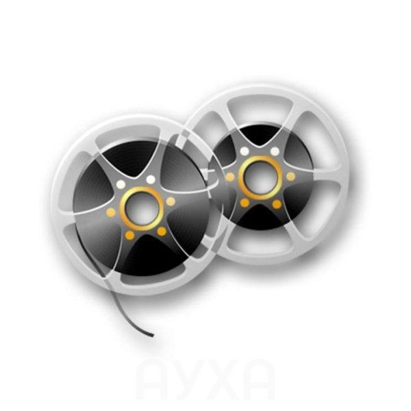 Оцифровка/покадровая оцифровка, цвето/звуко-коррекция 8-миллимитровой пленки, запись в любые форматы, добавление музыки